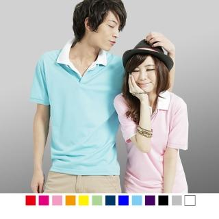 【男人幫】F0150*立領大東紡織布料吸濕排汗素領時尚POLO衫(F0150)