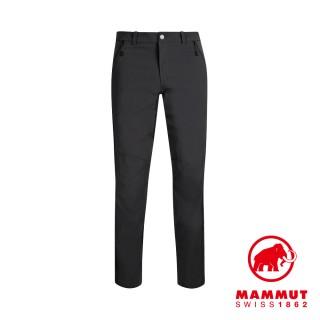 【Mammut 長毛象】Hiking Pants Men 經典健行長褲 黑色 男款 #1022-00420