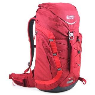 【英國TERRA PEAK】戶外休閒背包-紅(Shsdow 45)