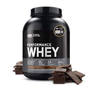 【美國 ON】Performance WHEY 高性能 濃縮乳清蛋白(巧克力/4.3磅/罐)