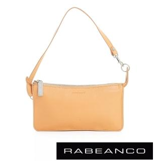 【RABEANCO】頂級牛皮多層手拿包長夾(淡香橙)