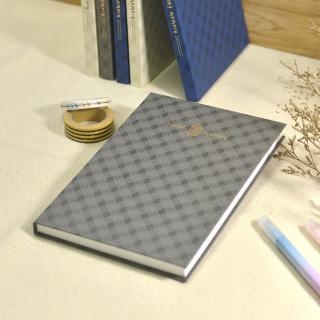 【Conifer綠的事務用品】旅行記憶。32K軟背精裝方格筆記本(手帳、萬用筆記本、精裝筆記本)