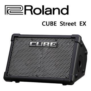 【ROLAND 樂蘭】CUBE Street EX街頭演出的最高音質音箱(黑色)