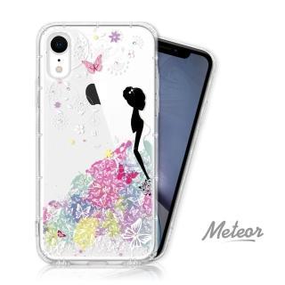 【EVO CASE】iPhone XR 奧地利彩鑽空壓防摔手機殼(花嫁)