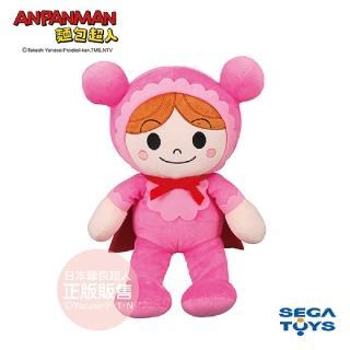 【ANPANMAN 麵包超人】蓬蓬微笑布偶S-PLUS 嬰兒超人(1.5歲-)