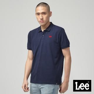 【Lee】Lee 短袖小LOGOPOLO衫/RG-丈青(丈青)