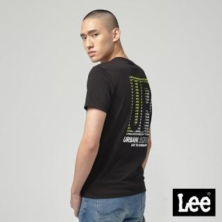 【Lee】Lee UR短袖圓領TEE/UR-黑(黑)