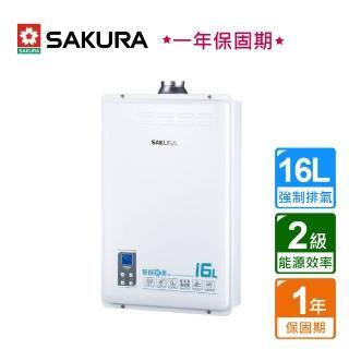 【SAKURA 櫻花】智能恆溫熱水器16L_ DH-1633A_不含安裝服務(BA140002)