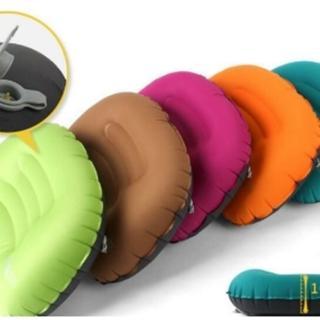 【May Shop】戶外TPU旅行充氣枕 旅遊空氣枕頭