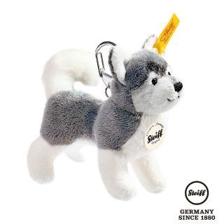 【STEIFF】Keyring Husky 哈士奇小狗(經典吊飾_黃標)
