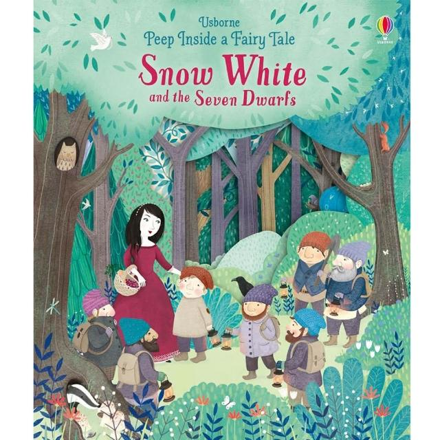 【Song Baby】Peep Inside A Fairy Tale:Snow White And The Seven Dwarfs 白雪公主與七個小矮人(操作書)