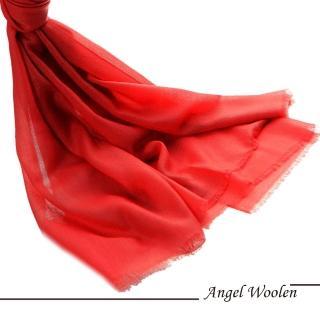 【ANGEL WOOLEN】鑽石紋100%Cashmere羊絨披肩圍巾(待嫁新娘)