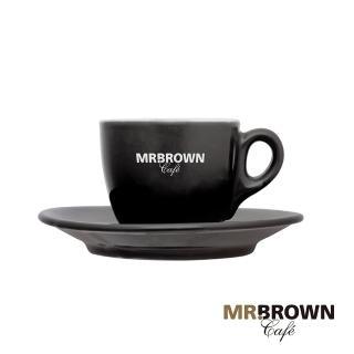 【MR.BROWN 伯朗】繽紛迷你馬克杯 曜石黑