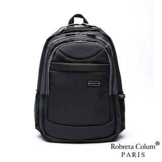 【Roberta Colum】【Roberta Colum】嚴選防潑水帥性多功能雙肩後背包-共2色