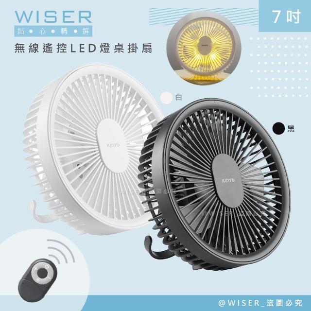 【KINYO】充電式行動風扇/夾扇/DC扇