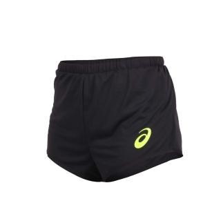【asics 亞瑟士】女田徑短褲-三分褲 競賽 慢跑 訓練 亞瑟士(2092A029-001)
