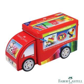 【Faber-Castell】紅色系 連接彩色筆33色(小卡車)