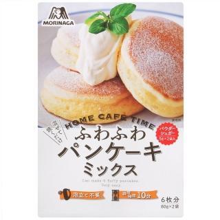 【森永製果】舒芙蕾鬆餅粉-附糖粉(170g)