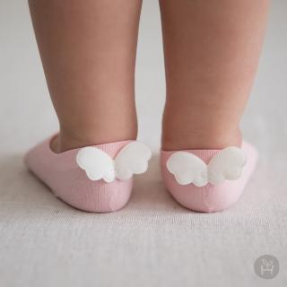【Happy Prince】Angel天使翅膀涼感嬰兒童踝襪 韓國製(寶寶襪 兒童襪 嬰兒襪)