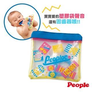 【People】夾鏈袋咬舔玩具(撕不破 咬舔安心!)