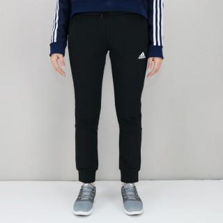 【adidas 愛迪達】Knit 3S Pant 黑 女運動長褲(DW5731)