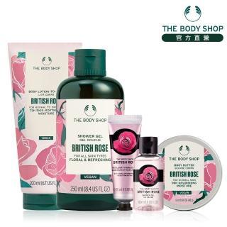 【THE BODY SHOP 美體小舖】經典玫瑰身體保養組
