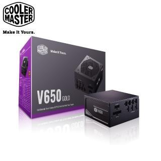 【CoolerMaster】Cooler Master V650 Gold 全模組化 電源供應器(V GOLD)