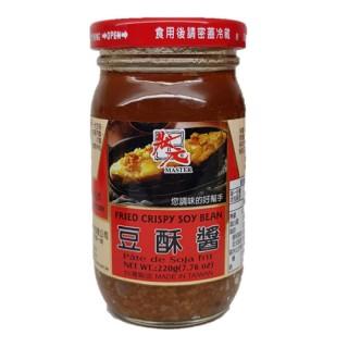 【狀元醬油】狀元豆酥醬220g