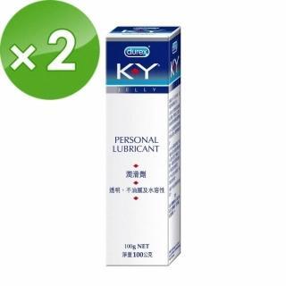 【Durex 杜蕾斯】KY潤滑劑(100g-2入)