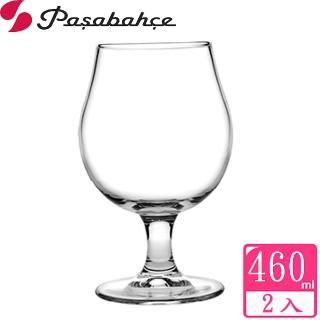 【Pasabahce】達夫特強化玻璃啤酒杯460cc(二入組)