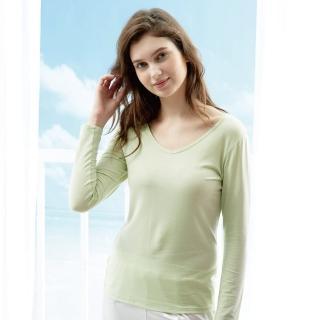 【Edenswear 伊登詩】女seacell海藻天絲棉長袖上衣(德國進口原料從原紗到車縫台灣製造)