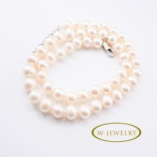 【w-Jewelry】雅緻珍珠珠串\(超強皮光)