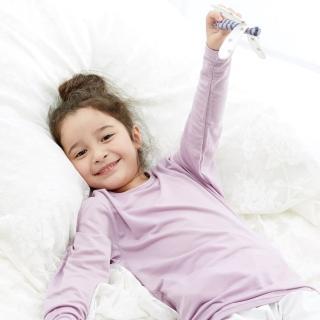 【Edenswear 伊登詩】兒童seacell海藻天絲棉長袖上衣(德國進口原料從原紗到車縫台灣製造)