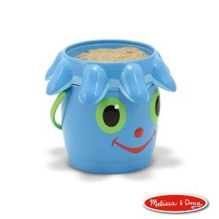 【Melissa & Doug 瑪莉莎】卡通造型玩沙篩桶組(章魚菲力)