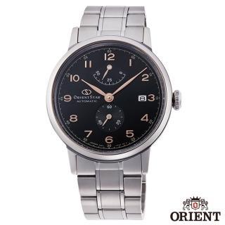 【ORIENT 東方錶】東方之星數字時標手動機械錶-黑面x38.5mm(RE-AW0001B00B)