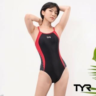 【TYR】Auriga Diamondback 女用連身三角泳裝(連身三角 修身剪裁)
