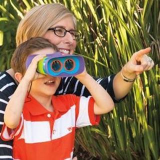 【美國 Educational Insights】小小探險家-兒童安全望遠鏡
