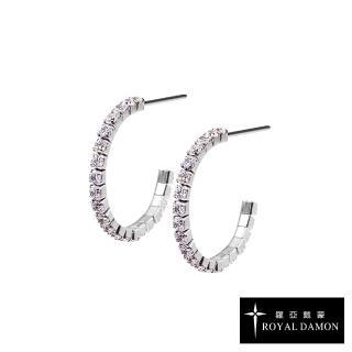 【ROYAL DAMON 羅亞戴蒙】閃亮的你 耳環(KE134)
