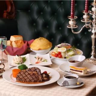 【宜蘭 伯斯飯店】茶水巴黎西餐廳-經典排餐雙人券