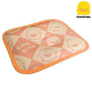 【Piyo Piyo 黃色小鴨】冰絲涼感嬰幼兒護頭枕(植物纖維)