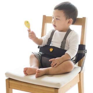 【hugpapa】Dial-fit 旋鈕式嬰兒兩用攜帶式輔助餐椅(輔助座椅 嬰兒餐椅 攜帶型餐椅 全身安全帶 行走安全帶)