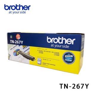 【brother】TN-267Y 原廠高容量黃色碳粉匣(TN-267Y)
