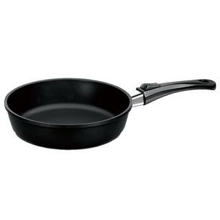 【德國寶迪Berndes】Vario Click系列維立歐鈦金不沾鍋單柄深炒鍋24cm-含蓋
