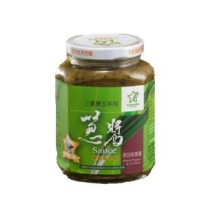 【三星地區農會】翠玉蔥醬-黑胡椒(380g)