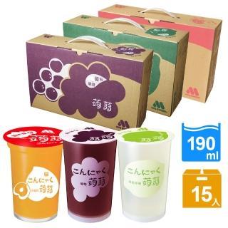 【摩斯漢堡】蒟蒻15杯/箱(綜合蔬果/葡萄/檸檬任選)