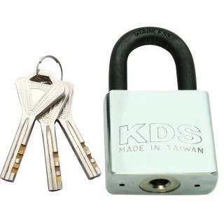 【金便利KDS】短鉤四角頭白鐵鎢鋼鎖 40mm(掛鎖 鎖頭 銅掛鎖)