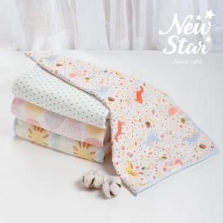 【Newstar】MIT100%親膚純棉紗布被雙層紗(寶寶必備 夏天 好用 透氣 不怕熱 涼感 舒適 嬰兒)
