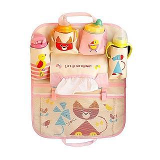 【Baby童衣】任選 多用途寶寶汽車座椅收納袋60377(獅子)
