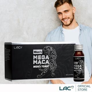 【GNC 健安喜】LAC 活力瑪卡飲10瓶(L-精胺酸 瑪卡 刺五加)