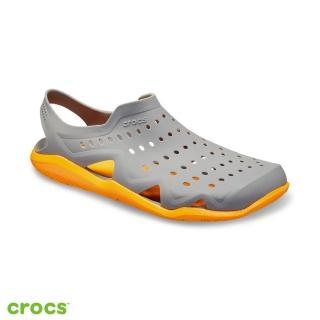 【Crocs】男鞋 男士激浪涉水鞋(203963-0FR)